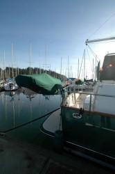 serenity dinghy davit